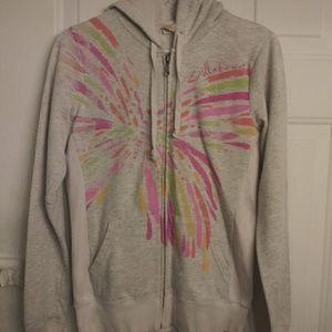 Billabong zip-up hoodie